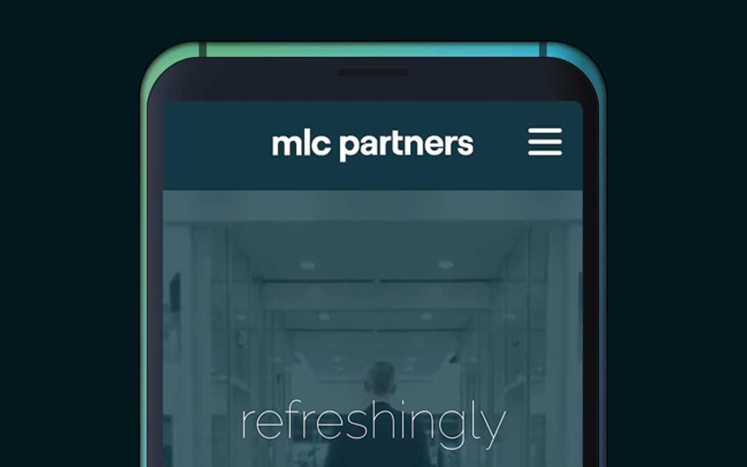 MLC Partners website design and build