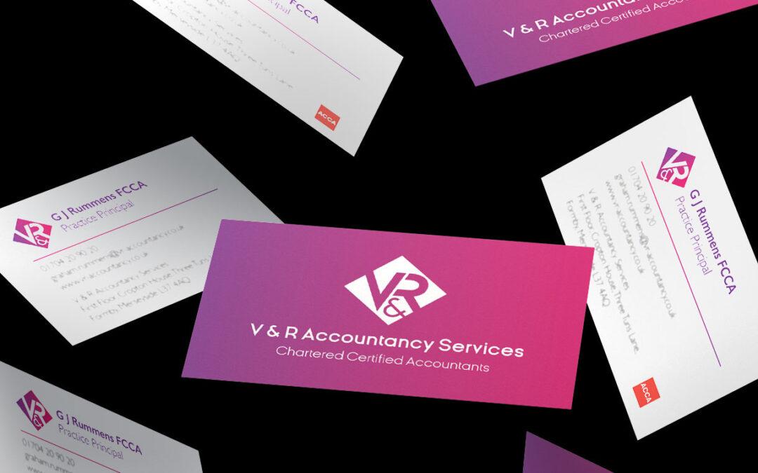 V & R Accountancy Services Brand Identity