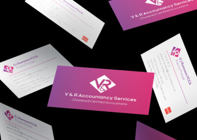 V & R Accountancy Services Brand Identity