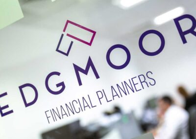 Edgmoor Financial Planners Branding and website